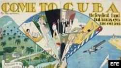 """De la muestra """"Paraíso prometido: encanto cubano, seducción estadounidense""""."""