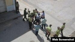 Opositores cubanos tras las rejas
