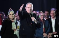 Kuczynski cierra su campaña en Arequipa con un concurrido mitin