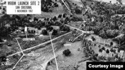 Sitio de los misiles soviéticos en Cuba.