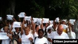 Reporta Cuba Todosmarchamos 24 domingos foto Angel Moya
