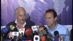 Ex-presidentes de Colombia y Bolivia prometen servir de mediadores a opositores presos