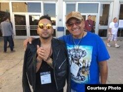 Padre e hijo han hecho historia en la percusión cubana.