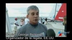Unos 12 regatistas salieron de Cayo Hueso rumbo a Cuba a bordo de sus veleros