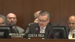 Costa Rica lleva crisis migratoria de cubanos a la OEA