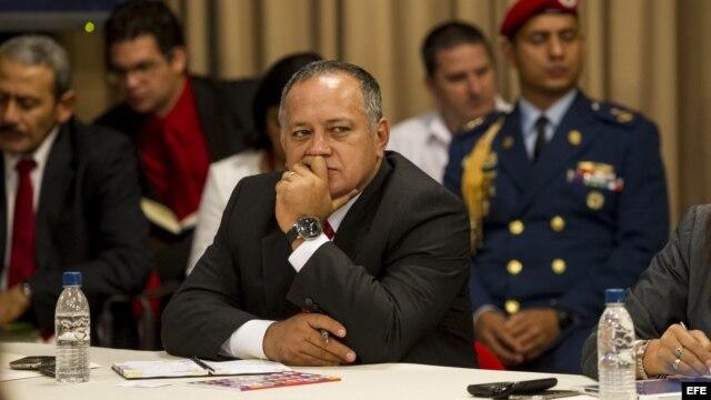 Diosdado Cabello, presidente de la Asamblea Nacional.