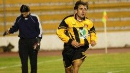 Archivo - Jugador de The Strongest de La Paz.