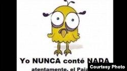 En este meme vuelven con la historia del pajarito que habló a Maduro.