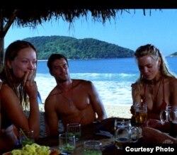 Turistas de EEUU en una playa dominicana. Todavía no pueden hacer turismo en las playas cubanas.