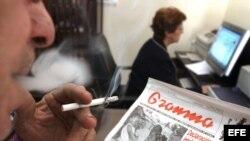 En Cuba está prohibido fumar en lugares públicos y vender cigarrillos a menores.
