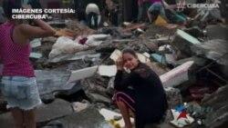 Destrozos, incomunicación y desamparo en Cuba al paso del huracán Matthew