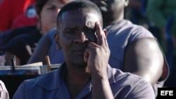 Imagen de archivo de un recluso cubano