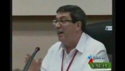 Bruno Rodríguez arremete contra Obama en Congreso del PCC