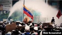 """Imagen del documental """"Chavismo: la peste del siglo XXI""""."""