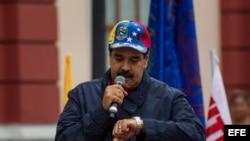 El presidente de Venezuela, Nicolás Maduro. EFE