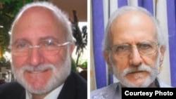 Alan Gross antes de su arresto y después de casi cinco años años preso en Cuba.