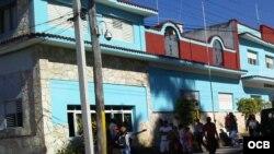 Calixto García, esquina Pinto, Unidad PNR, Guantánamo.