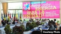 Reunión de Petrocaribe en Managua, Nicaragua.
