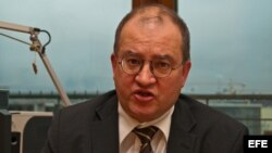 Ex-opositor de la antiguar RDA Arnold Vaatz.