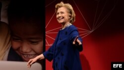 La ex secretaria de Estado de EEUU Hillary Clinton.