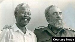 Mandela y Castro