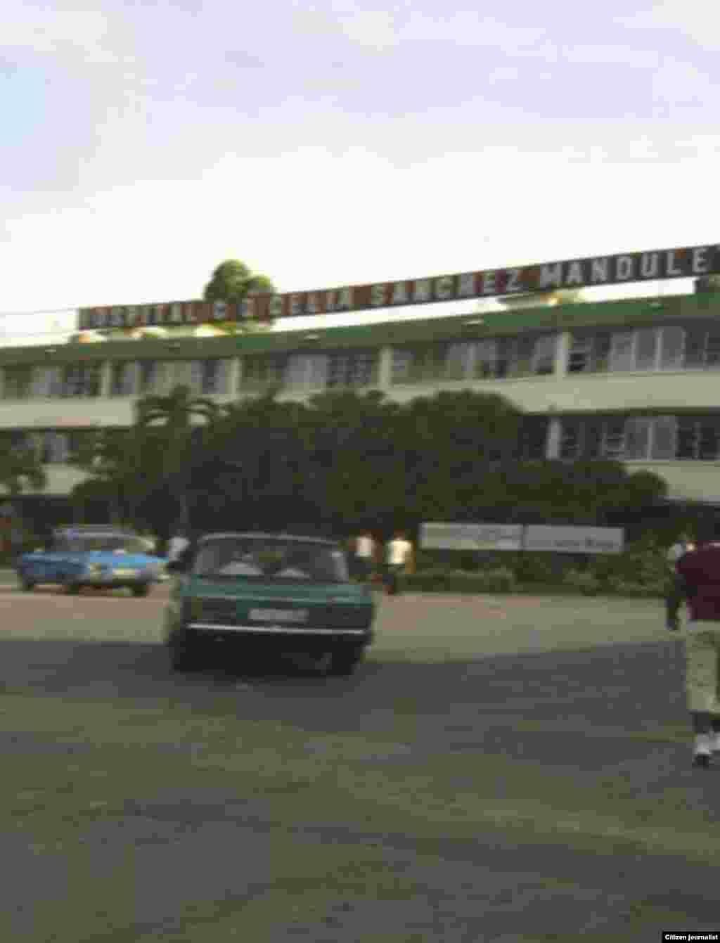 Reporta Cuba. Una mirada desde afuera al Hospital Celia Sánchez en Campechuela. Foto Rudi Batista