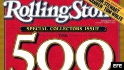 """Revista """"Rolling Stone"""". Archivo."""