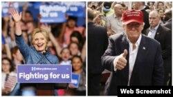 Ambos candidatos presidenciales han cortejado el voto cubanoamericano.