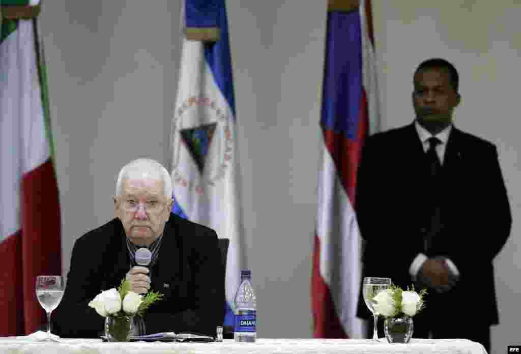 El ex ministro de Cultura cubano Armando Hart Dávalos.