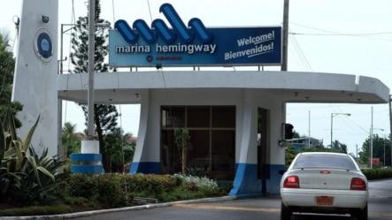 Entrada a Marina Hemingway.