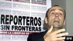 El responsable de la sección de Las Américas de 'Reporteros Sin Fronteras', Benoit Hervieu. Foto de archivo
