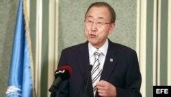 Secretario General de la ONU Ban Ki-Moon en Qatar