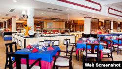 Restaurante de Memories Paraíso Azul.