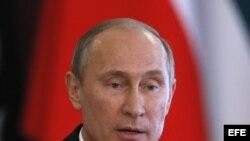 El presidente Rusia, Vladímir Putin.