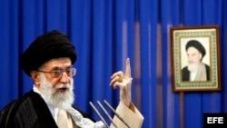 El líder supremo iraní, ayatolá Alí Jameneí.