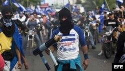 Manifestantes de la Marcha de las Madres de abril agredidos el miércoles en Managua