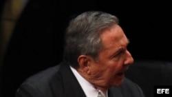 Foto de archivo de Raúl Castro.