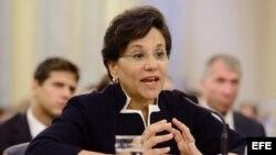 Penny Pritzker, secretaria de Comercio de EEUU.