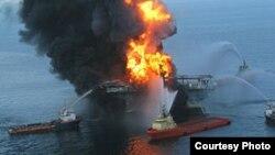 Derrame en la plataforma Deepwater Horizon. El Golfo de México fue contaminado por 779.000 toneladas de crudo.