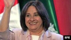 La ministra de Salud de Perú, Midori de Habich