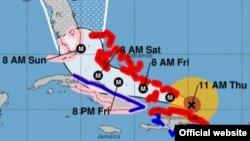 Actualización sobre lo que ha sucedido al paso del Huracán Irma por Nuevitas