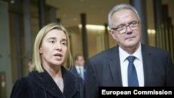 Los comisarios europeos de Relaciones Exteriores Federica Mogherini, y Desarrollo, Neven Mimica, buscarán concluir en La Habana el acuerdo de diálogo político con Cuba