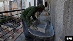 Brigada cuentapropista repara asilo en Sancti Spíritus