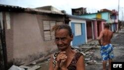 FOTOGALERÍA. El espanto de Matthew en el rostro de los cubanos