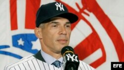 Joe Girardi, ex manager de los Yankees de Nueva York.