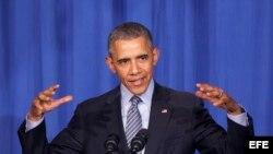 El presidente de Estados Unidos Barack Obama. Archivo.