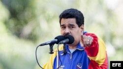 Foto de archivo del presidente de Venezuela, Nicolás Maduro.