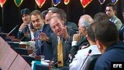 """Las relaciones entre España y Venezuela han vivido momentos de alta tensión como cuando el rey Juan Carlos en el Plenario de la Cumbre Iberoamericana, le dijo al entonces presidente de Venezuela, Hugo Chávez, """"¿por qué no te callas?"""""""