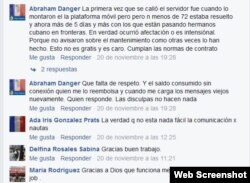 ETECSA Facebook