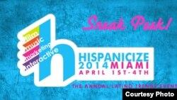 Imagen promocional del evento Hispanicize 2014.